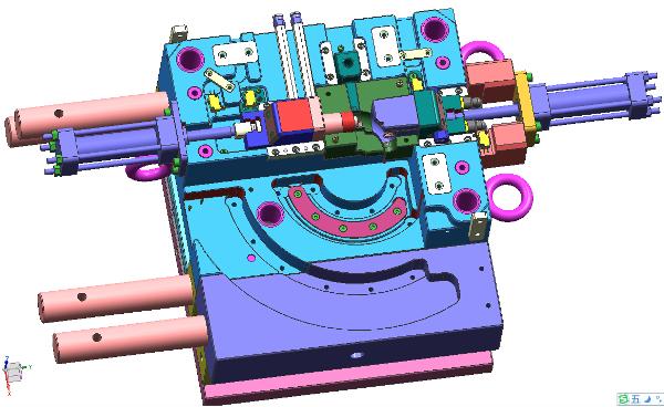 matext客户端-弯管圆弧抽芯案例