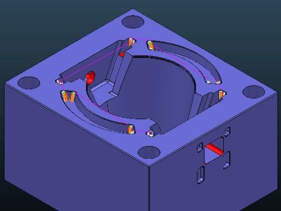 数控编程-模框数控实训案例