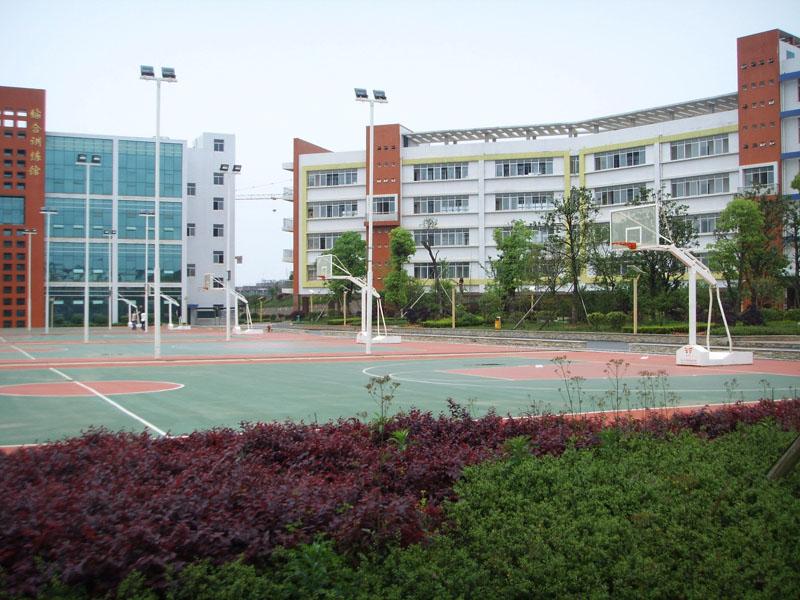 学院篮球场